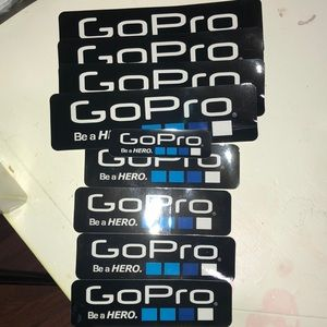 GoPro computer/ surface stickers